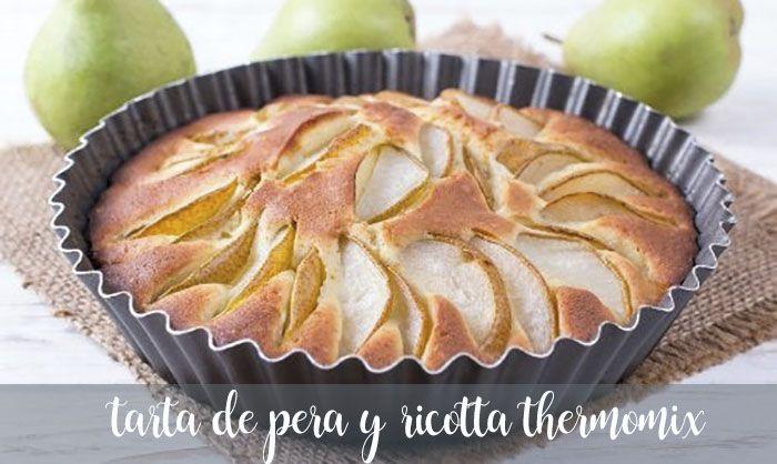 Ciasto gruszkowo-ricotta z Thermomixem